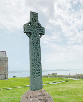 Celtic Cross on Iona